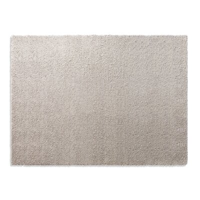 Cush Heathered Oatmeal Area Rug Rug Size: 9 x 12