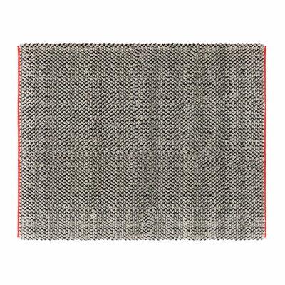 Dollop Grey Area Rug Rug Size: 8 x 10