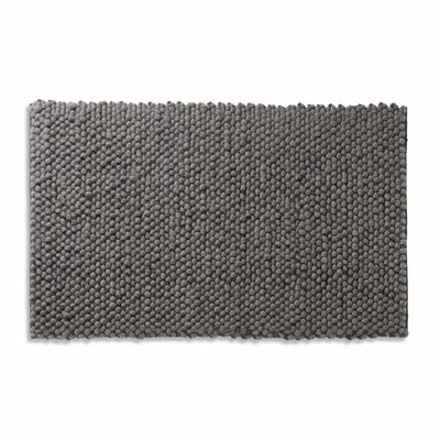Dollop Dark Gray Area Rug Rug Size: 3 x 5