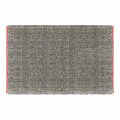 Dollop Grey Area Rug Rug Size: 5 x 8