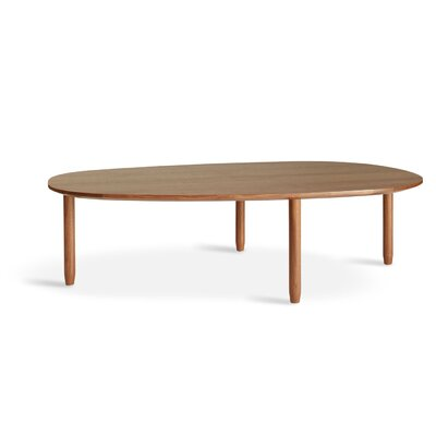 Swole Coffee Table Finish: Walnut