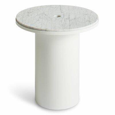Plateau Side Table Table Base Color: White