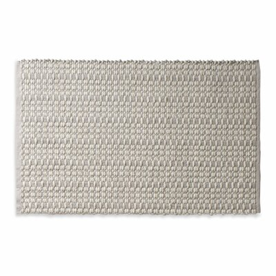 Weft Light Gray / Heathered Oatmeal Area Rug Rug Size: 3 x 5