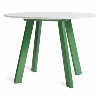 Right Dining Table Base Finish: Grass Green