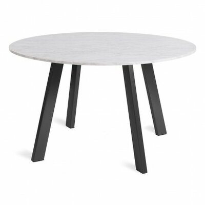 Right Dining Table Base Finish: Flat Black