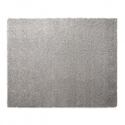 Cush Heathered Gray Area Rug Rug Size: 8 x 10
