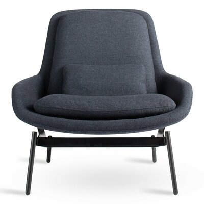 Field Lounge Chair Upholstery: Edwards Navy