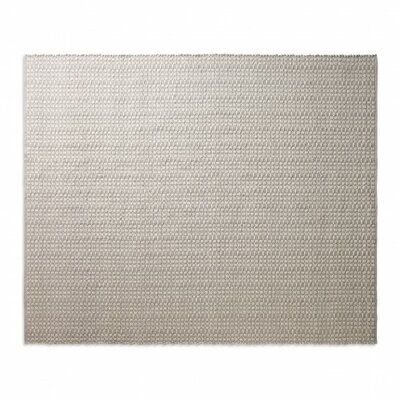 Weft Light Gray / Heathered Oatmeal Area Rug Rug Size: 8 x 10