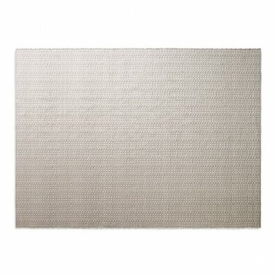 Weft Light Gray / Heathered Oatmeal Area Rug Rug Size: 9 x 12