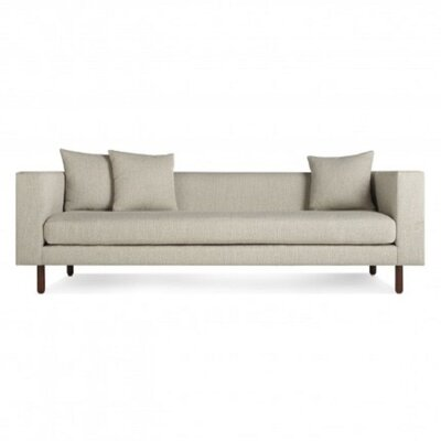 Mono Sofa Upholstery: Spitzer Grey