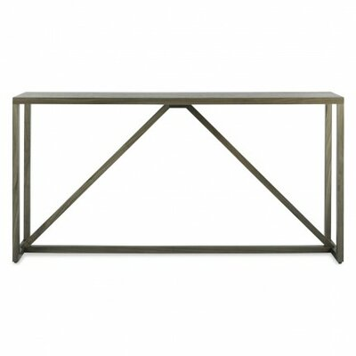 Strut Console Table Finish: Smoke