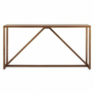 Strut Console Table Finish: Walnut