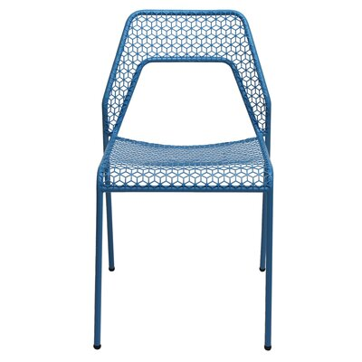 Hot Mesh Side Chair Upholstery: Bright Blue