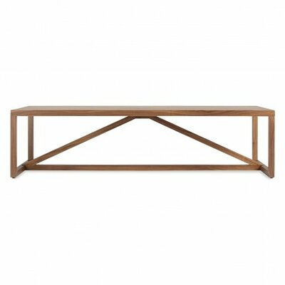 Strut Coffee Table Color: Walnut