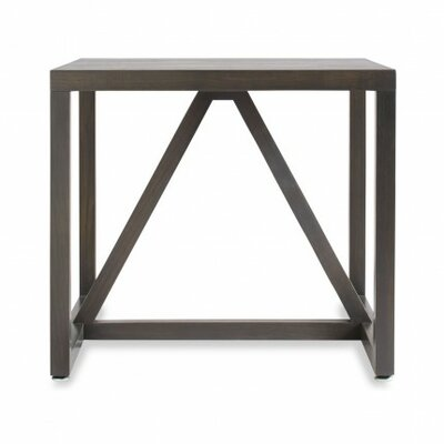 Strut End Table Color: Smoke
