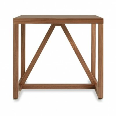 Strut End Table Color: Walnut