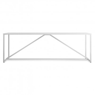 Strut Table Size: Large - 74.5, Finish: White