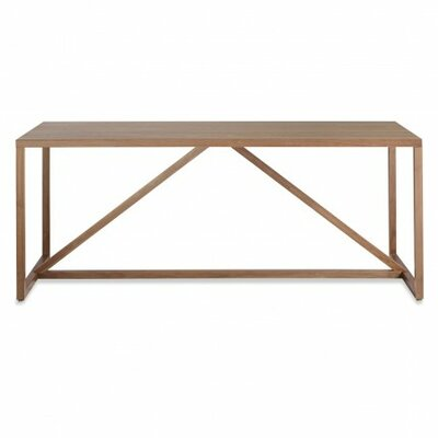 Strut Table Table Size: Medium - 56, Table Color: Walnut