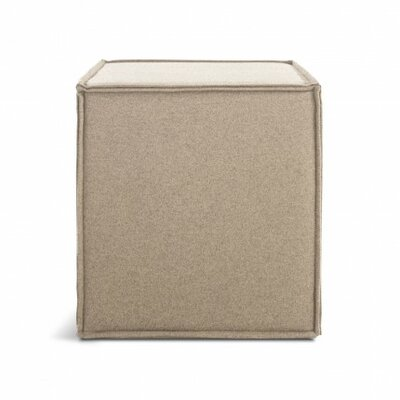 Otto Cube Ottoman Body Fabric: Thurmond Wheat