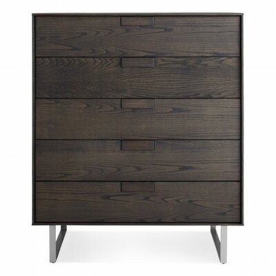 Series Eleven 5 Drawer Dresser Finish: Smoke