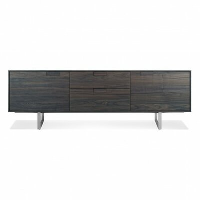 Series 11 Two Drawer TV Stand Wood Finish: Smoke-On-Ash