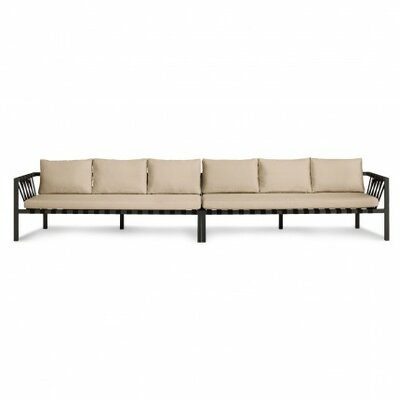 Jibe Outdoor Extra Long Sofa with Cushions