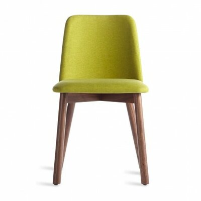 Chip Upholstered Dining Chair Color: Walnut