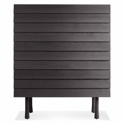 Lap Tall Dresser Color: Black