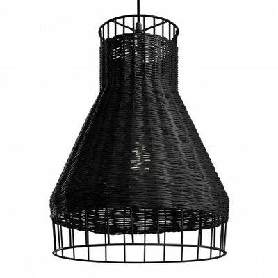Laika Plus 1-Light Pendant Color: Black