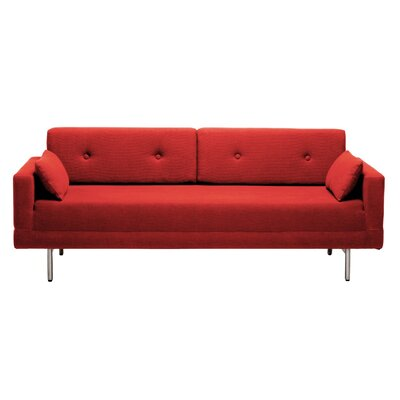 One Night Stand Sleeper Sofa Body Fabric: Craig Red