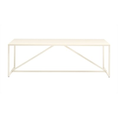 Strut Coffee Table Finish: Ivory