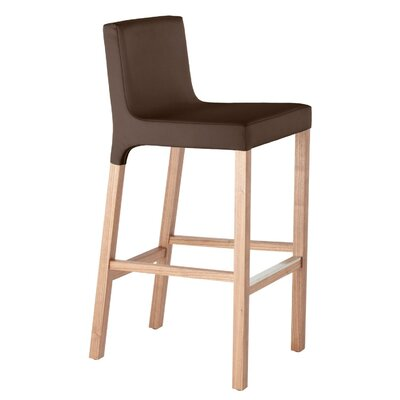 Knicker 31.5 Bar Stool Upholstery: Chocolate