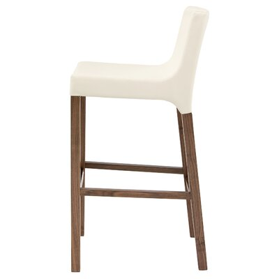 Knicker 31.5 inch Bar Stool Upholstery: White