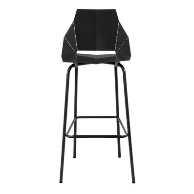 Real Good Counter Stool Body Fabric: Black