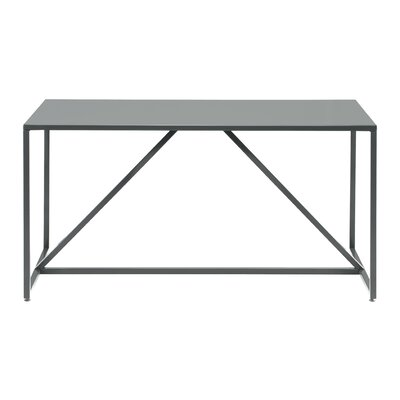 Strut Table Table Size: Large - 74.5, Table Finish: Slate