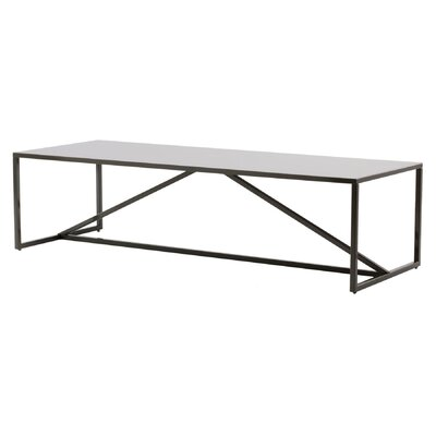Strut Coffee Table Color: Slate