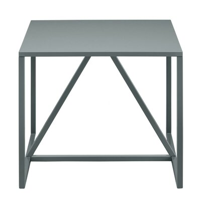 Strut End Table Color: Slate