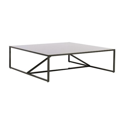Strut Square Coffee Table Finish: Slate