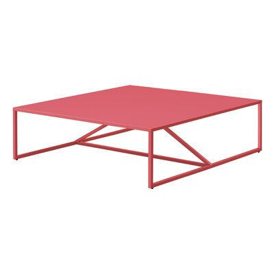Strut Coffee Table Color: Watermelon