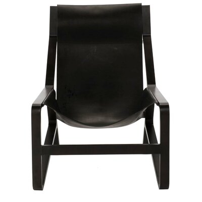 Toro Armchair Frame Color: Night