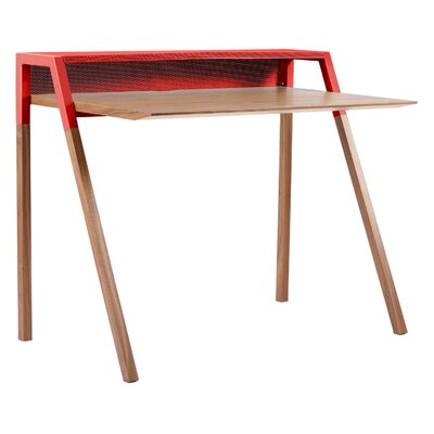 Cant Writing Desk Color: Red Product Picture 1719
