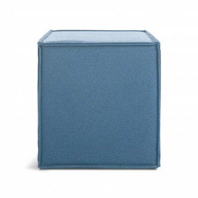 Otto Pouf Ottoman Upholstery: Marine Blue