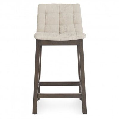 Wicket Smoke Bar Stool Upholstery: Sand