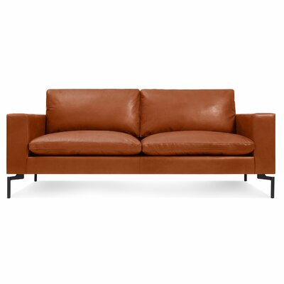 The New Standard Leather Sofa Upholstery: Toffee Brown