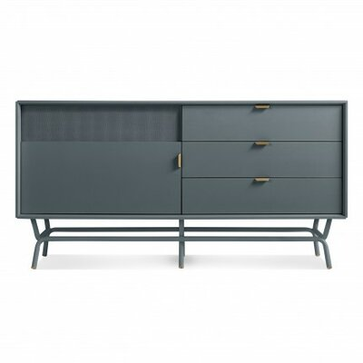 Dang 56 TV Stand Color: Marine Blue
