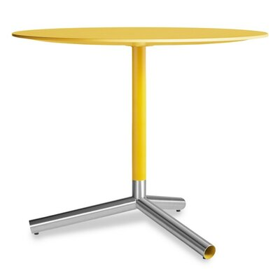 Sprout Cafe Dining Table Top Finish: Yellow
