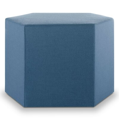 Hecks Ottoman Body Fabric: Thurmond Marine Blue