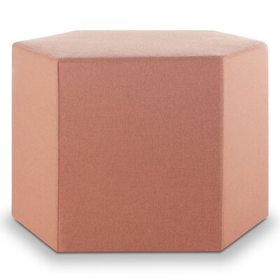 Hecks Ottoman Body Fabric: Thurmond Blush