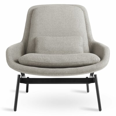 Field Lounge Chair Body Fabric: Edwards Light Grey