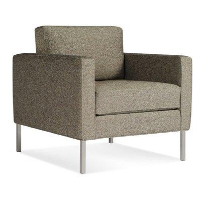 Paramount Fabric Armchair Upholstery: Sanford Black